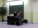 Klaudia z referatem na seminarium w Kujawskiej Szkole Wyższej we Włocławku_18