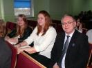 Klaudia z referatem na seminarium w Kujawskiej Szkole Wyższej we Włocławku_2