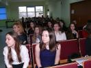Klaudia z referatem na seminarium w Kujawskiej Szkole Wyższej we Włocławku_5