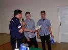 Uczniowie z pochwałą Komendanta Komisariatu Policji w Kowalu