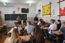 Przedstawiciele SUPERFOSU w szkole