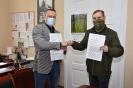 Podpisanie umowy z Jednostką Strzelecką we Włocławku